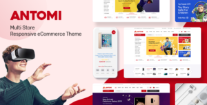 Download free Antomi v1.0.2 – Multipurpose Theme for WooCommerce WordPress