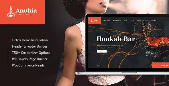 Download free Anubia v1.0.3 – Smoking and Hookah Bar WordPress Theme