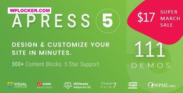 Download free Apress v5.1.8 – Responsive Multi-Purpose Theme