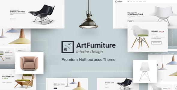 Download free Artfurniture v1.0.5 – Furniture Theme for WooCommerce