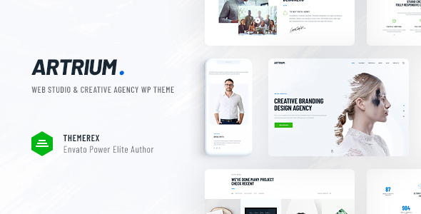 Download free Artrium v1.0.2 – Creative Agency & Web Studio Theme