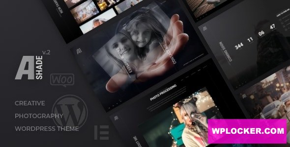 Download free Ashade v3.0 – Photography WordPress Theme