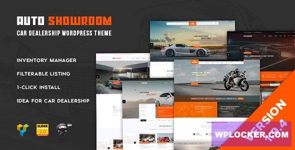 Download free Auto Showroom v1.9.4 – Car Dealership WP Theme