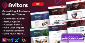 Download free Avitore v1.0 – Consulting Business WordPress Theme