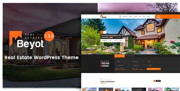 Download free BEYOT v2.0.2 – WordPress Real Estate Theme