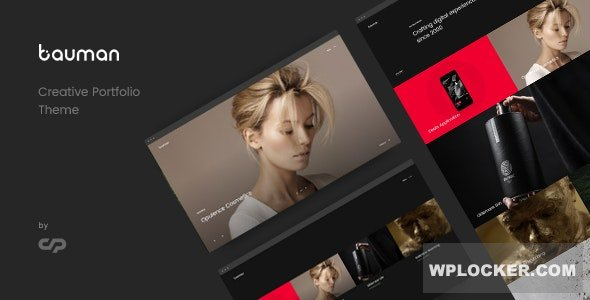 Download free Bauman v1.7 – Creative Portfolio Theme