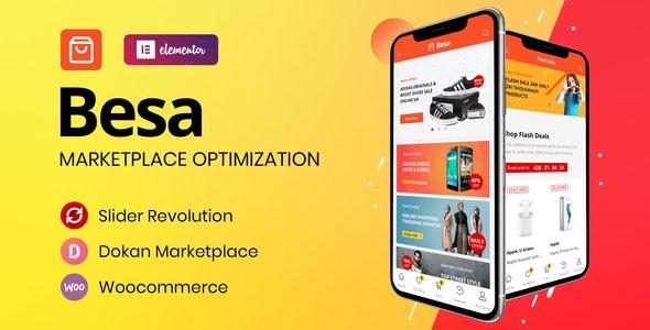 Download free Besa v1.0.8 – Elementor Marketplace WooCommerce Theme