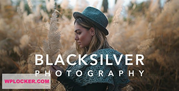 Download free Blacksilver v4.1 – Photography Theme for WordPress