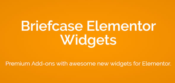 Download free Briefcase Elementor Widgets v1.8.1