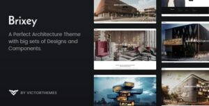 Download free Brixey v1.7.1 – Responsive Architecture WordPress Theme