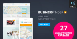 Download free Business Finder v3.1.1 – Directory Listing WordPress Theme
