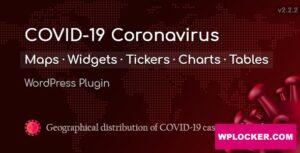 Download free COVID-19 Coronavirus v2.2.6.2 – Live Map WordPress Plugin