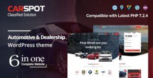 Download free CarSpot v2.2.5 – Automotive Car Dealer WordPress Classified Theme