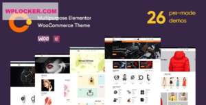 Download free Cerato v2.0.9 – Multipurpose Elementor WooCommerce Theme