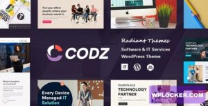 Download free Codz v1.0.3 – Software & IT Services Theme