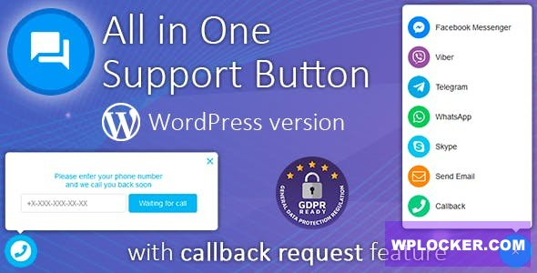 Download free Contact us all-in-one button with callback v1.8.9