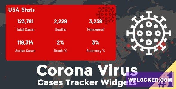 Download free Corona Virus Cases Tracker Widgets v1.7