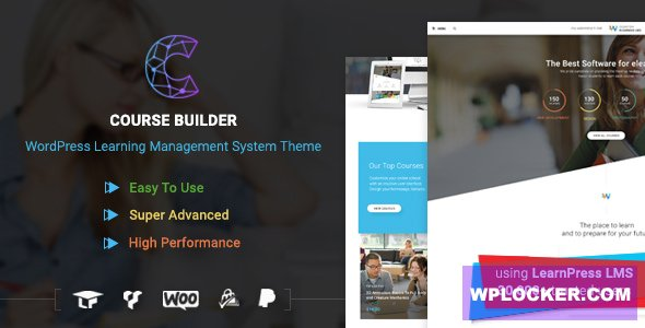 Download free Course Builder v3.1.3 – LMS Theme for Online Courses
