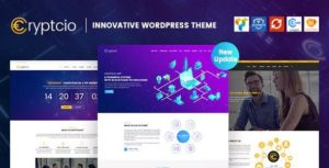 Download free Cryptcio v1.6.3 – Innovative WordPress Theme