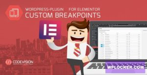 Download free Custom Mobile Breakpoints for Elementor v1.0.1