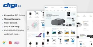 Download free Digi v1.5.5 – Electronics Store WooCommerce Theme