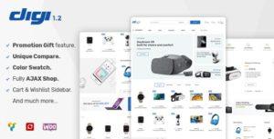 Download free Digi v1.5.5 – Electronics Store WooCommerce Theme