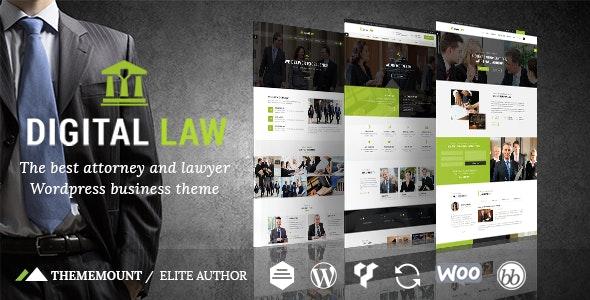 Download free Digital Law v11.0 – Attorney & Legal Advisor WordPress Theme