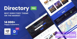 Download free DirectoryPRO v4.0.3 – WordPress Directory Theme