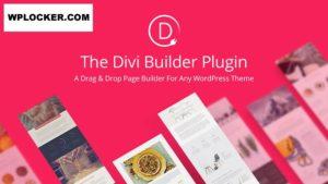 Download free Divi Builder v4.4.8 – Drag & Drop Page Builder WP Plugin
