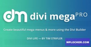 Download free Divi Mega Pro v1.8.2.5.1
