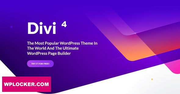 Download free Divi v4.4.8 – Elegantthemes Premium WordPress Theme