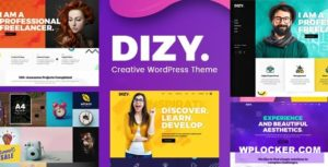 Download free Dizy v1.1.3 – Creative Portfolio Theme