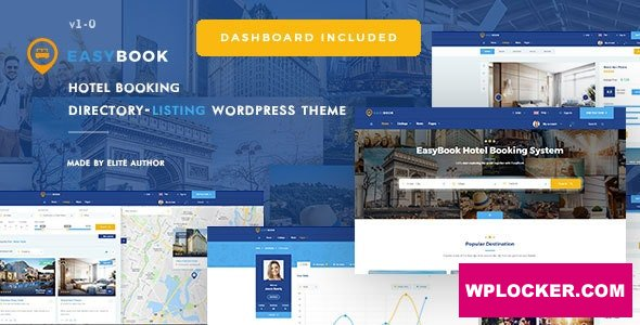 Download free EasyBook v1.3.1 – Directory & Listing WordPress Theme