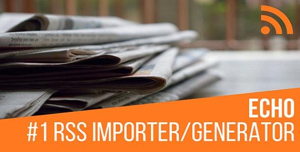 Download free Echo RSS Feed Post Generator v4.9.5 – Plugin for WordPress