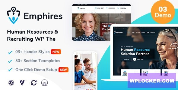 Download free Emphires v1.3 – Human Resources & Recruiting Theme