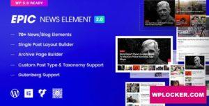 Download free Epic News Elements v2.2.7