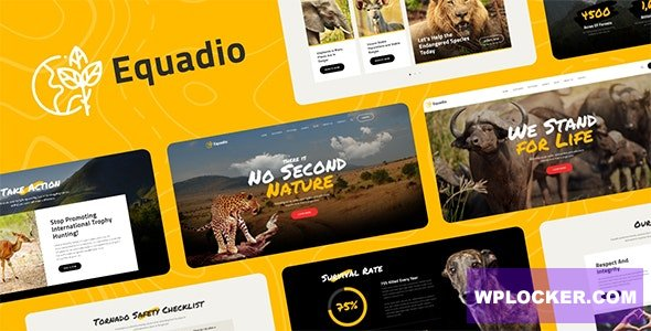 Download free Equadio v1.0.0 – Non-Profit and Environmental WordPress Theme