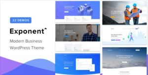 Download free Exponent v1.2.8.4 – Modern Multi-Purpose Business Theme