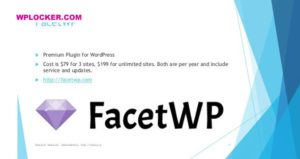 Download free FacetWP v3.5.5 + Addons
