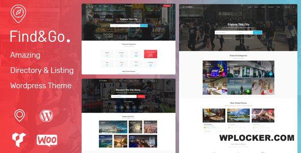 Download free Findgo v1.3.30 – Directory & Listing WordPress Theme
