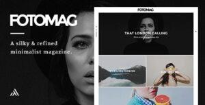 Download free Fotomag v2.0.3 – A Silky Minimalist Blogging Magazine WordPress Theme