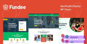 Download free Fundee v1.0 – NonProfit Charity WordPress Theme