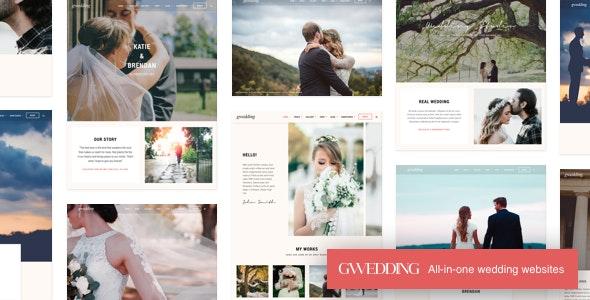 Download free Grand Wedding v2.5 – WordPress