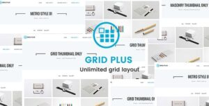 Download free Grid Plus v2.8 – Unlimited Grid Layout