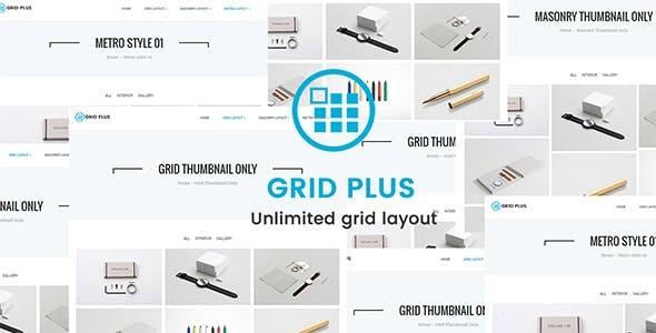 Download free Grid Plus v2.8 – Unlimited Grid Layout