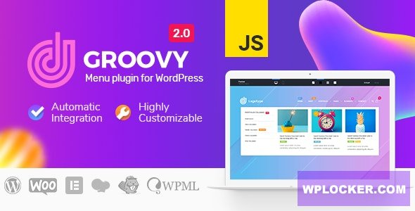 Download free Groovy Menu v2.2.0 – WordPress Mega Menu Plugin