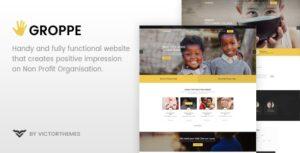 Download free Groppe v2.6 – Nonprofit WordPress Theme