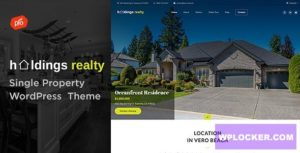 Download free Holdings Realty v1.5 – Sinle Property Theme