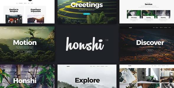 Download free Honshi v2.4.6 – Creative Multi Purpose WordPress Theme