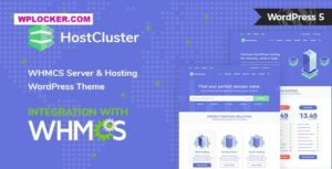Download free HostCluster v1.9 – WHMCS Server & Hosting WordPress Theme + RTL